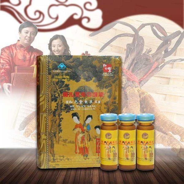 Hộp đông trùng hạ thảo ba cô tiên của Hòa Nguyên Đường