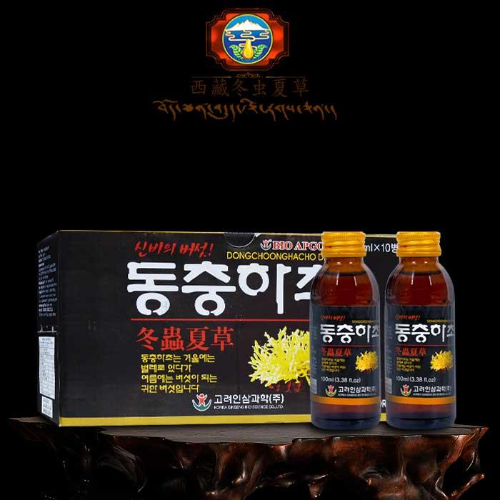 Hộp đông trùng hạ thảo nước Bio Apgold nhập khẩu từ Hàn Quốc