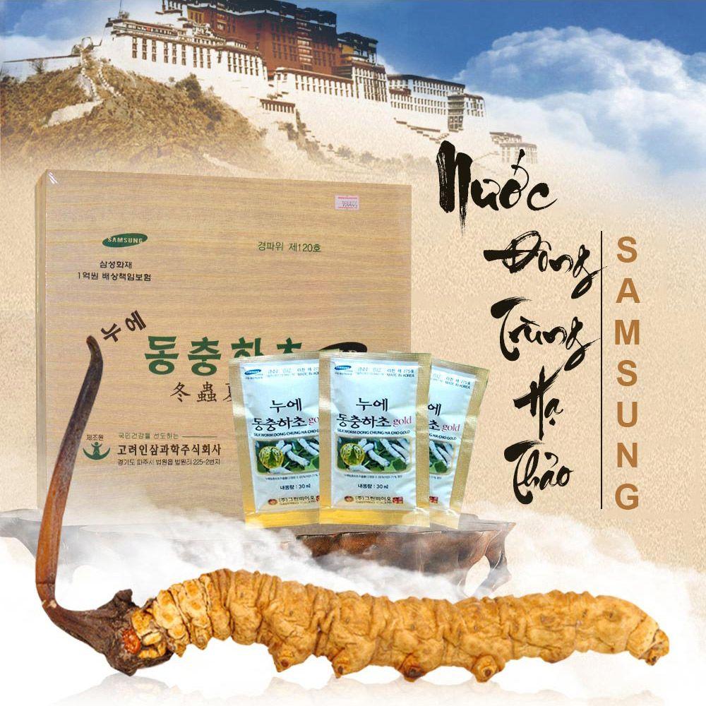 Đông trùng hạ thảo Samsung dạng nước của Hàn Quốc