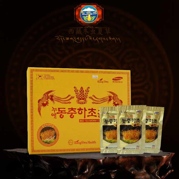 Nước đông trùng hạ thảo Hàn Quốc hộp vàng cao cấp
