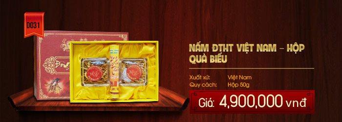 Giá đông trùng hạ thảo khô sản xuất tại Việt Nam